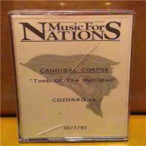 Cannibal Corpse - Tomb Of The Mutilated download mp3 flac