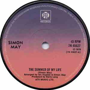 Simon May - The Summer Of My Life download mp3 flac